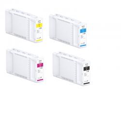 Pack Cartouches d'encre EPSON SureColor SC-T3400 350 ml