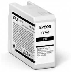 Cartouche d'encre EPSON Noir Photo T47A1 50 ml