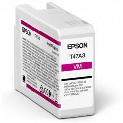 Cartouche d'encre EPSON Magenta vif  T47A3 50 ml