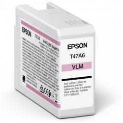 Cartouche d'encre EPSON Magenta clair vif  T47A6 50 ml