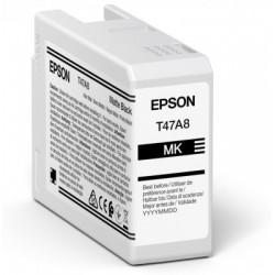 Cartouche d'encre EPSON Noir Mate T47A8 50 ml