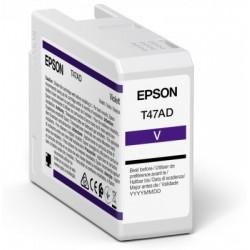 Cartouche d'encre EPSON Violet  T47AD 50 ml
