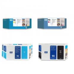 Pack Cartouche d'encre HP 90 - 400ml