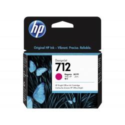 Cartouche d'encre DesignJet HP 712, magenta, 29 ml