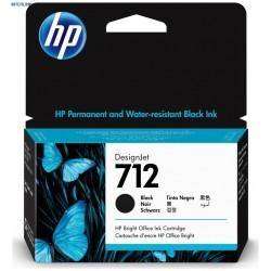Cartouche d'encre DesignJet HP 712, noir, 80 ml