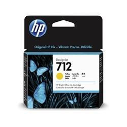 Cartouche d'encre DesignJet HP 712, jaune, 29 ml