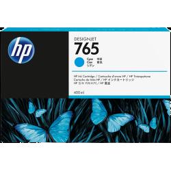 Cartouche d'encre HP 765 Cyan 400ml
