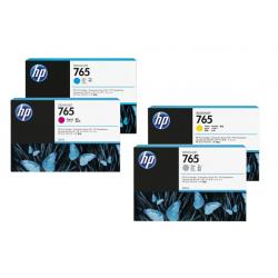 Pack cartouche d'encre HP 765 - 400 ml