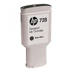 Cartouche d'encre HP 728 Noir mat 130ml