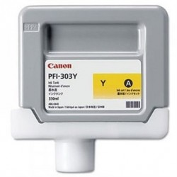 Cartouche d'encre CANON PFI-303Y Jaune 330ml