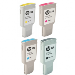 Pack Cartouche d'encre HP 728 - 300ml