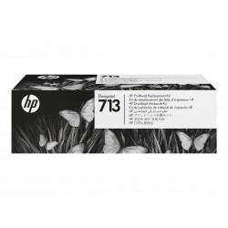 Kit de remplacement pour tête d'impression HP 713 DesignJet