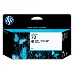 Cartouche d'encre noire mate HP 72 130 ml