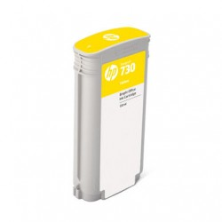 Cartouche d'encre HP 730 Jaune 130 ml
