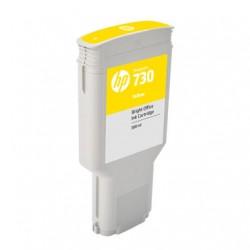 Cartouche d'encre HP 730 Jaune 300 ml