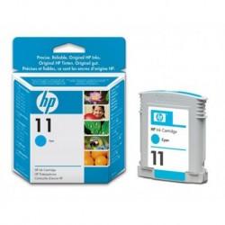 Cartouche d'encre Cyan HP Designjet 11 28 Ml