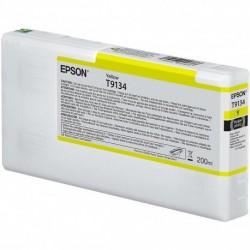 Cartouche d'encre EPSON T1934 Jaune - 200 ml