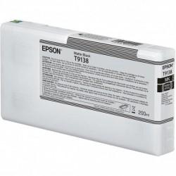 Cartouche d'encre EPSON T1938 Noir mat - 200 ml
