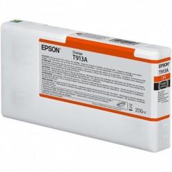 Cartouche d'encre EPSON T913A Orange  - 200 ml