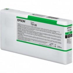 Cartouche d'encre EPSON T913B Verte  - 200 ml