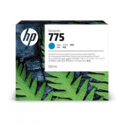 Cartouche d'encre HP 775 Cyan 500 ml