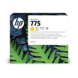 Cartouche d'encre HP 775 Jaune 500 ml