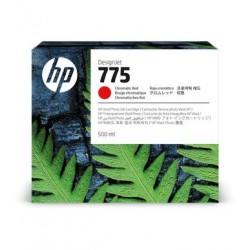 Cartouche d'encre HP 775 Rouge Chromatique 500 ml