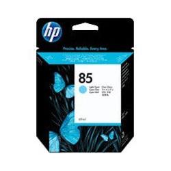 Cartouche d'encre cyan clair HP 85 (69 ml)