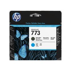 Tete d'impression Noir Mat/Cyan HP773