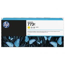 Cartouche d'encre Jaune HP 773C 775ml